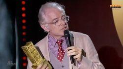 Mac Lesggy est ravi que le jury des Gérard de la télé ait vu le méchant qui sommeille en