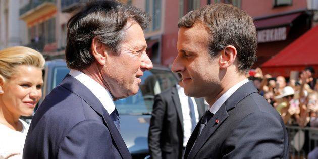 Le baiser de la mort de Christian Estrosi à Emmanuel Macron sur