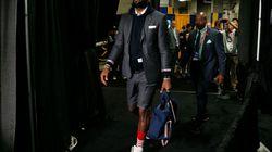 LeBron James a pris tout le monde de court avec son uniforme