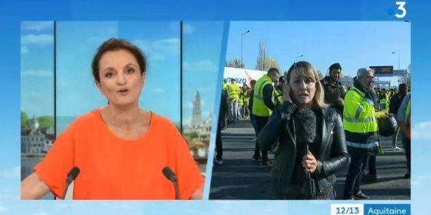 France 3 accusée d'avoir censurée le duplex d'une journaliste qui évoquait les menaces policières lors...