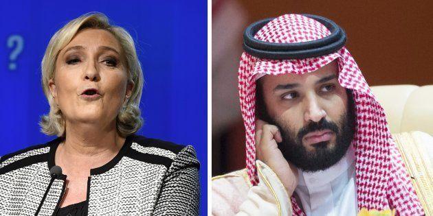 Plutôt que Melania Trump, Marine Le Pen aimerait qu'on s'intéresse à