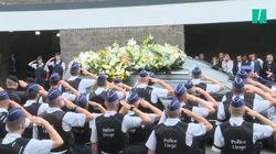 Les images de l'hommage aux policières tuées dans l'attaque de
