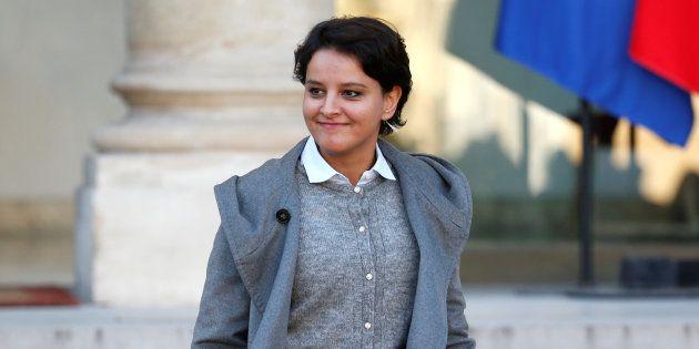 Najat Vallaud-Belkacem ne sera pas candidate pour diriger le