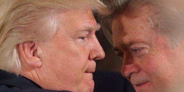 Donald Trump accuse son ex-conseiller Steve Bannon