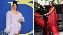 Naomi Campbell et Kendall Jenner portent très bien les tenues à poils