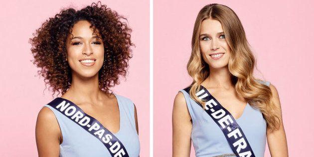 Les photos des 30 candidates à l'élection Miss France 2019 ont été dévoilées. Ici : Miss Nord-Pas-de-Calais,...