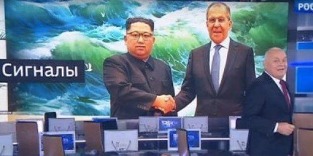Une chaîne de télévision russe retouche une photo de Kim Jong-un pour lui redonner le