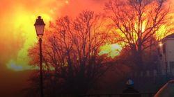 Les images des incendies provoqués par Eleanor en