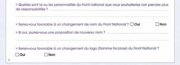 Les militants FN ne veulent pas changer de nom? Le parti dénonce une