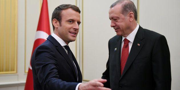 En recevant Erdogan, Macron confirme son gout pour la