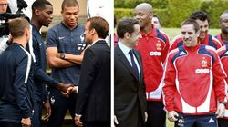 Comme Macron, chaque président tient à l'équipe de France un discours qui en dit long sur