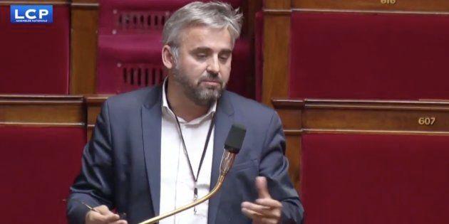 Alexis Corbières à l'Assemblée nationale lundi 19