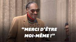 Snoop Dogg félicite Snoop Dogg pour son étoile à