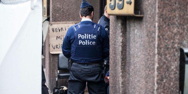 Un individu a attaqué un policier au couteau ce mardi 20 novembre, à Bruxelles (Photo