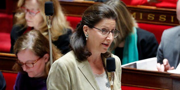 Agnès Buzyn à l'Assemblée nationale au mois de