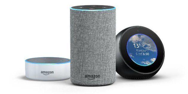 Alexa, l'assistant d'Amazon arrive en France avec Echo, son enceinte