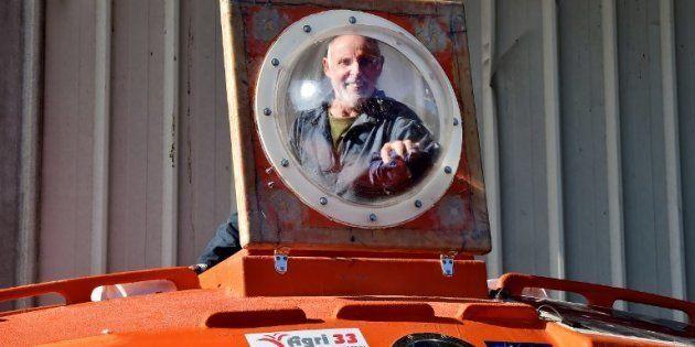 Jean-Jacques Savin, grand sportif de 71 ans, va tenter dans les prochaines semaines de traverser l'Atlantique...