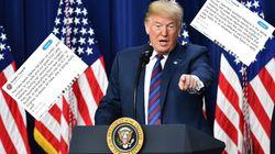 Trump rassure sur ses relations avec Melania et dénonce des médias