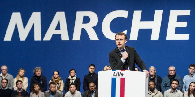 La République en marche, parti fondé par Emmanuel Macron, est visée par une enquête préliminaire pour...