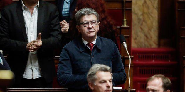Lors des débats sur la loi contre les fake news à l'Assemblée, Jean-Luc Mélenchon a accusé