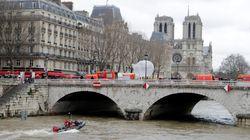 Une plongeuse de la police disparaît dans la Seine à Paris lors d'un