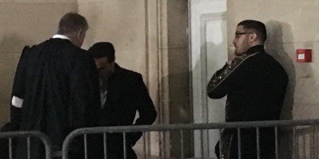 Jawad Bendaoud au Palais de justice de Paris ce mercredi 21 novembre
