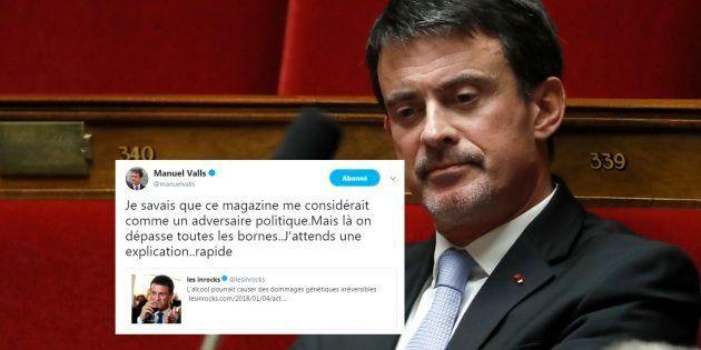 Manuel Valls et Les Inrocks s'écharpent sur