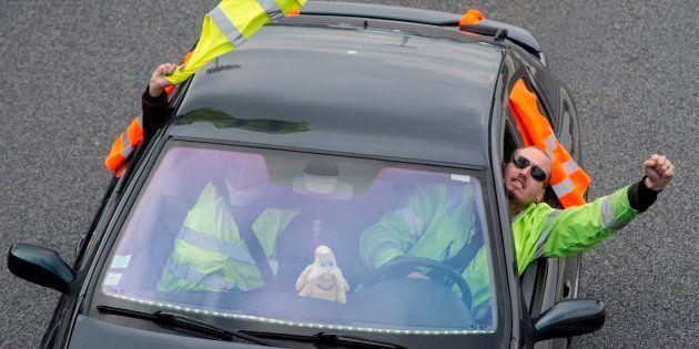 Les gilets jaunes entament ce mercredi 21 novembre une cinquième journée de mobilisation (Photo