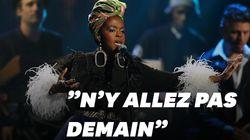 Les images des fans de Lauryn Hill en colère face à son retard à