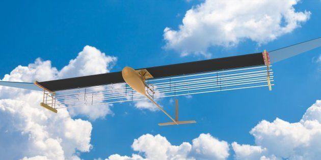 Un avion avec un moteur ionique a volé pour la première