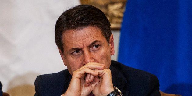 Le premier ministre italien à Caserta le 19 novembre