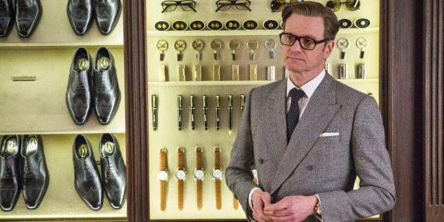Colin Firth dans le rôle de Harry Hart