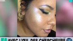 Ce maquillage change de couleur selon la luminosité, et c'est