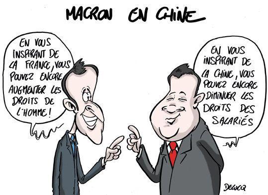 Les tribulations d'Emmanuel Macron en