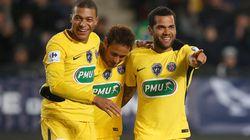 Le PSG étrille Rennes pour son entrée en coupe de