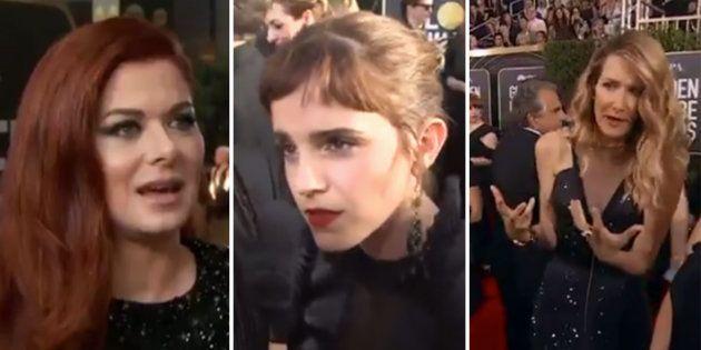 Aux Golden Globes, les actrices ont parfaitement expliqué pourquoi elles portaient toutes du