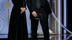 Avant de remettre le prix du meilleur réalisateur, Natalie Portman a fait une précision de