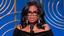 Le vibrant discours d'Oprah Winfrey aux Golden Globes a électrisé toute