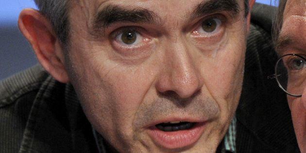 Yves Veyrier en février 2011 au Parc des expositions de