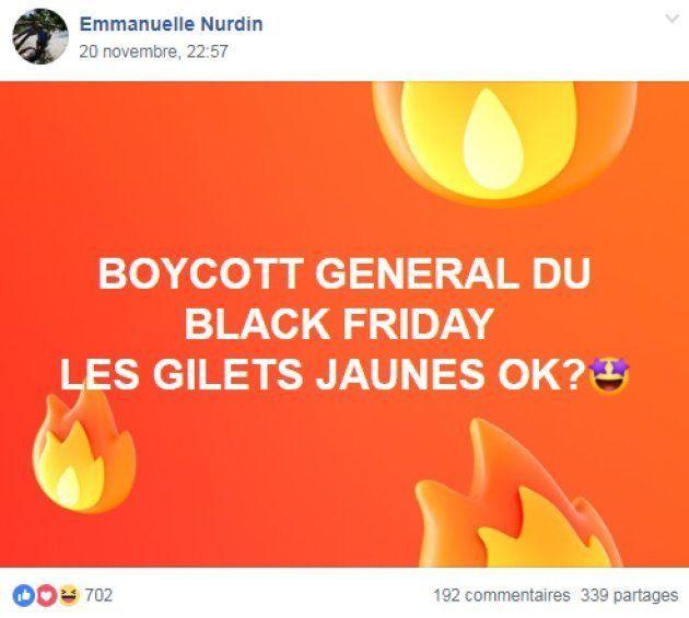 Les appels au boycott ou au blocage du black friday se multiplient sur les réseaux sociaux