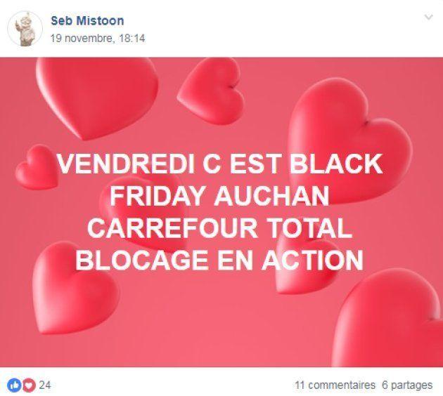 Les appels au blocage et au boycott du black friday se multiplient sur les réseaux sociaux gilets