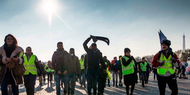 La manif parisienne des gilets jaunes (ici le 17 novembre dans la capitale) autorisé au