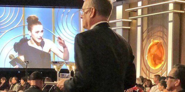 Aux Golden Globes 2018, Tom Hanks a servi des martinis toute la
