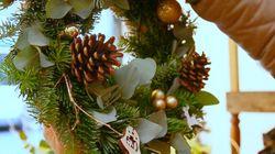 Pour votre couronne de Noël, voici le plus simple et rapide des