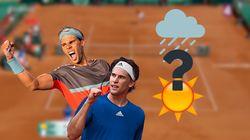 À Roland-Garros, comment la météo peut influencer la