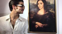 L'artiste qui a transformé Nabilla en Joconde dévoile les autres tableaux de sa