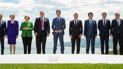 Défiés par Trump, les dirigeants du G7 ont tenté de sauver les