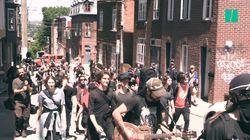 Manif sous surveillance et repas végan à Québec pour les opposants au