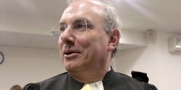 Maître Gérard Boulanger, en mai 2005, quand il présidait la Ligue des droits de l'homme (LDH) de