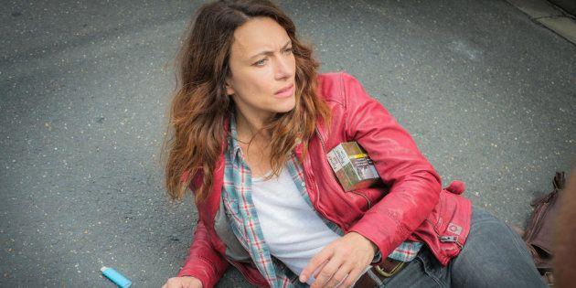 Natacha Lindinger reprend le rôle de Mathilde Seigner dans la saison 2